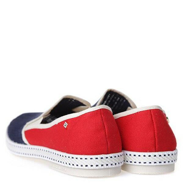 【EST】Rivieras 20度° 9999 半洞洞 拼接 懶人鞋 藍紅 [RV-9999-169] F0330 3