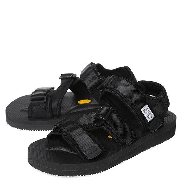 【EST】Suicoke Kisee-V Og-044V 日本 復古 厚底 魔鬼氈 織帶 涼鞋 黑 [SK-044V-002] G0512 1
