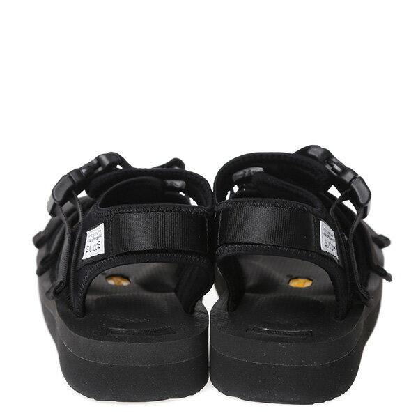 【EST】SUICOKE GGA SK-OG-052V 日本 復古 厚底 魔鬼氈 織帶 涼鞋 黑 [SK-052V-002] G0512 3