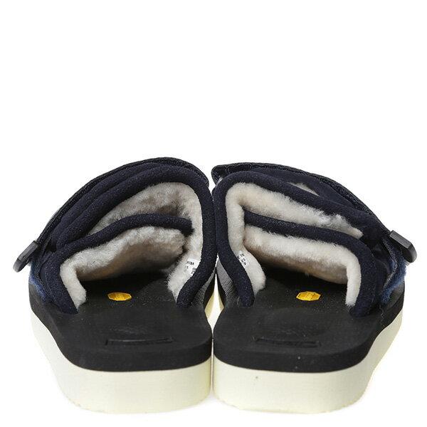 【EST】Suicoke Moto-Vm Og-056Vm 日本 復古 厚底 魔鬼氈 絨毛 涼鞋 深藍 [SK-56VM-086] G0512 3