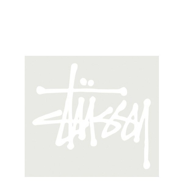 【EST】Stussy 137001 Regular Stock 貼紙 白字 大 [ST-5274-001] G0428