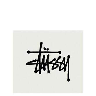 【EST】STUSSY 137002 REGULAR STOCK 貼紙 黑字 小 [ST-5275-002] G0428
