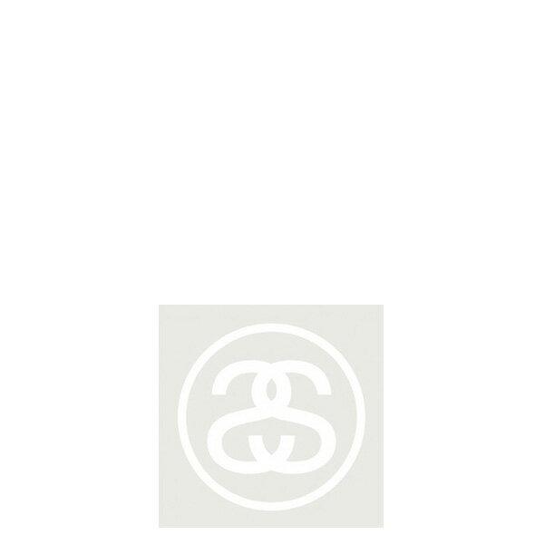 ~EST~Stussy 137370 Ss Link 貼紙 白字 小  ST~5279~001  G0428