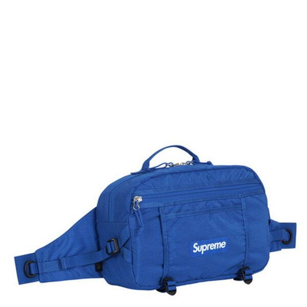 【EST】Supreme Shoulder Bag Box Logo 腰包 側背包 藍色 [SU-5002-086] H0105