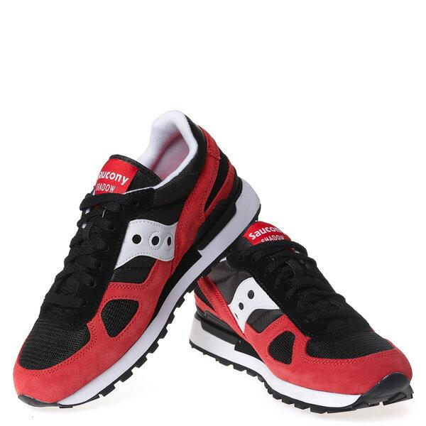【EST】Saucony Shadow Original S21086-10 復古 慢跑鞋 男鞋 黑紅 [SY-2108-610] G0107 2