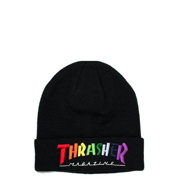 【EST】Thrasher Embroidered Logo 3D 刺繡 火焰 毛帽 彩色 [TH-0018-000] H0105