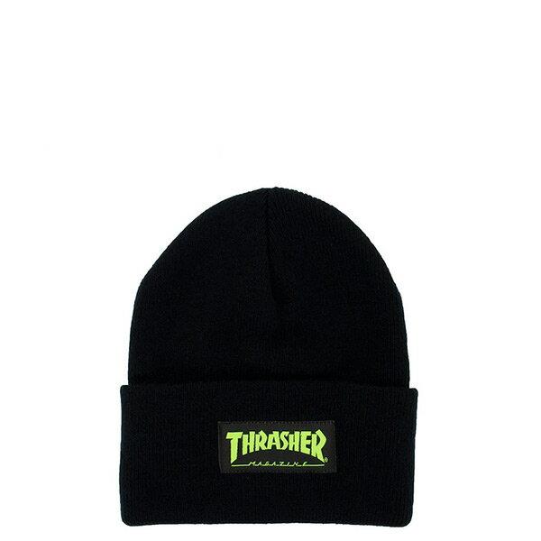 【EST】Thrasher 15Th-N50 Mag Logo 綠字 毛帽 黑 [TH-0019-029] H0105