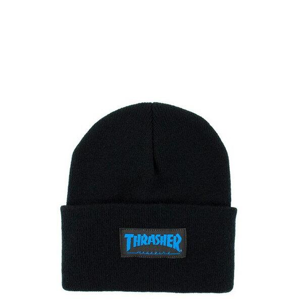 【EST】Thrasher 15Th-N50 Mag Logo 藍字 毛帽 黑 [TH-0019-086] H0105