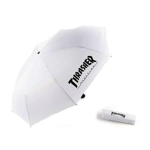 【EST】Thrasher Magazine Umbrella 抗uv 摺疊 雨傘 白 [TH-0029-001] H0105