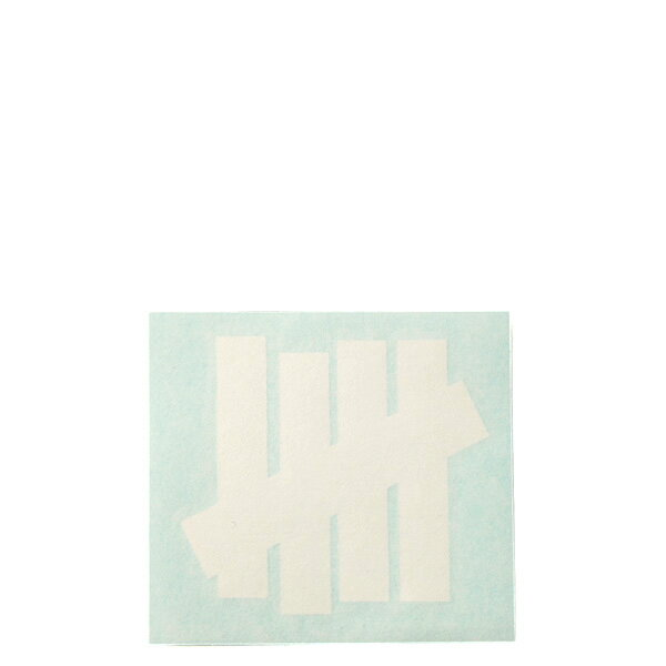 【EST】UNDEFEATED 538158 5 STRIKE DECAL 貼紙 白字 小 [UF-5211-001] G0428 - 限時優惠好康折扣