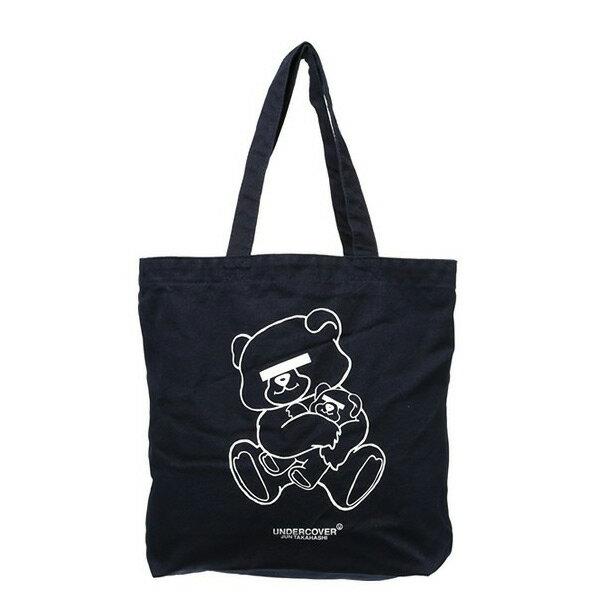 【EST O】Undercover UCQ8B01 經典 小熊 托特包 購物袋 深藍 H0802