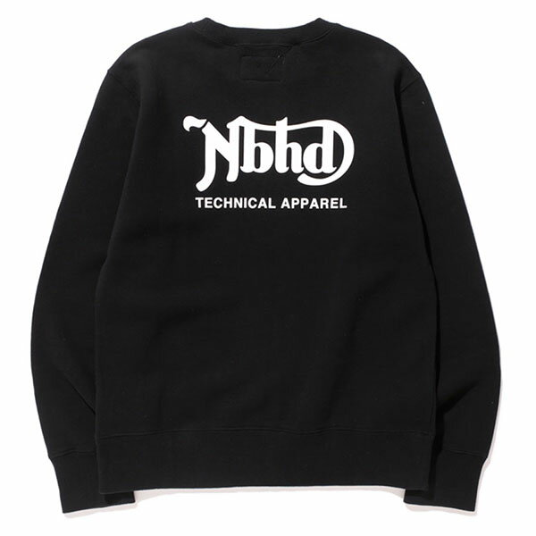 【EST O】Neighborhood Hb . Tot / C-Crew . Ls 長tee 大學tee 黑 G0105 1