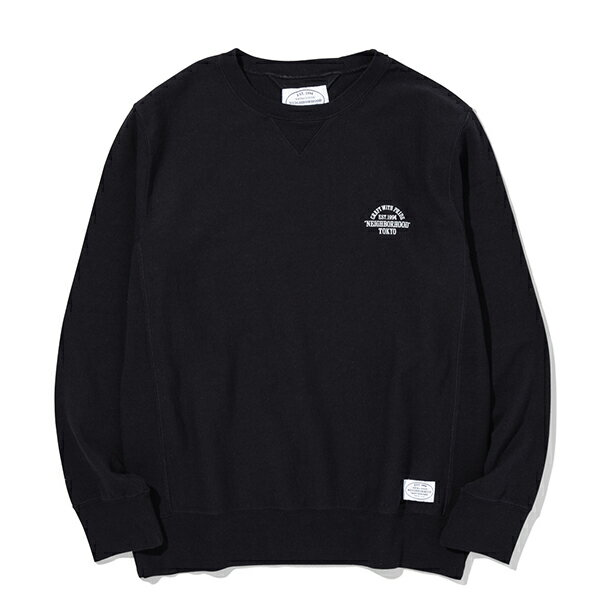【EST O】Neighborhood Jersey 大學tee 黑 G0920 0