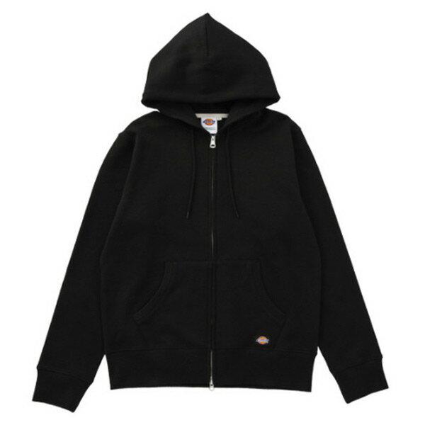 【EST O】Dickies Logo Hoodie 小布標連帽外套 黑 H0111