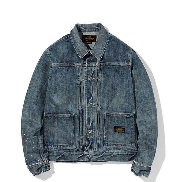 【ESTO】NeighborhoodSAVAGE.STOCKMANC-JKT水洗牛仔外套夾克H1016