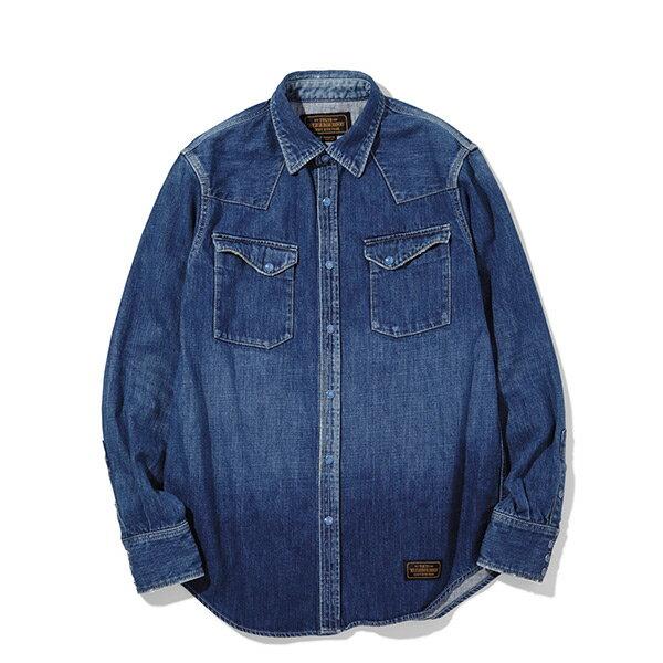 【ESTO】NeighborhoodJAMC-SHIRT.LS單寧牛仔長袖襯衫H1016
