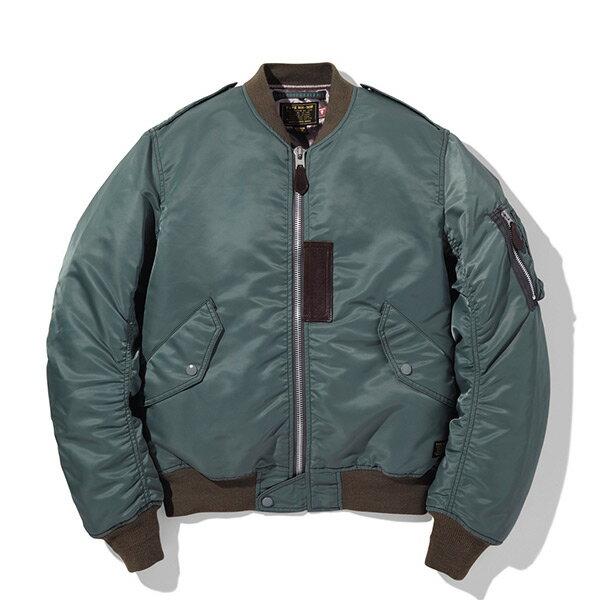 【ESTO】NeighborhoodL-2DN-JKTMA-1飛行外套風衣夾克綠H1016