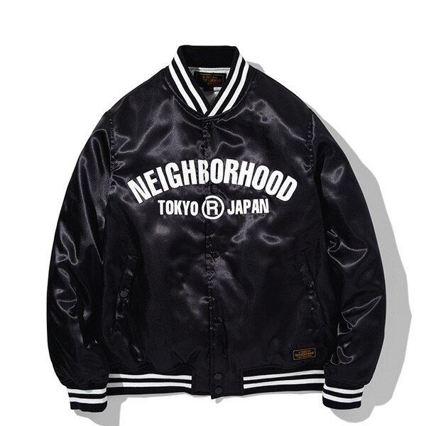 【ESTO】NeighborhoodB.B.E-JKTNBHD棒球外套黑H1016