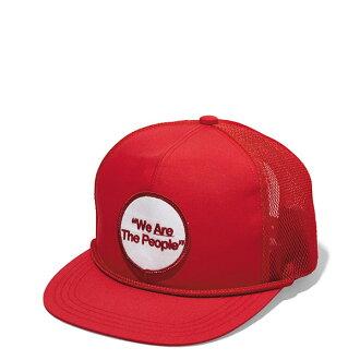 【EST O】Neighborhood W-CP / EC-CAP NBHD 貼布 可調式 棒球帽 紅 H1016