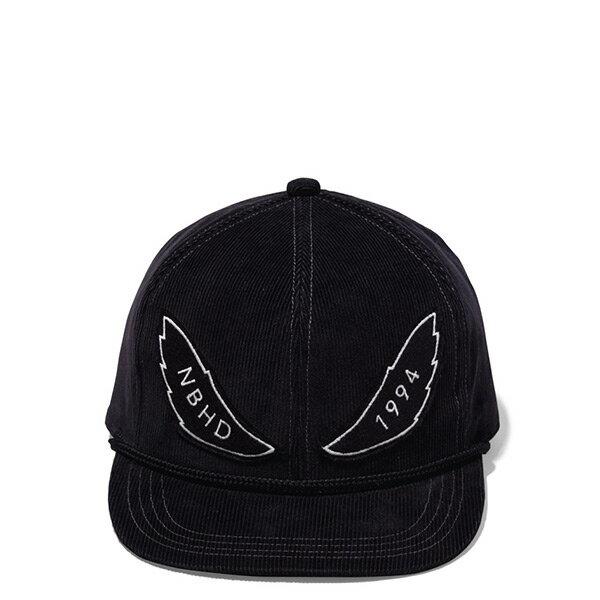 【ESTO】NeighborhoodCORDUROYCE-CAPNBHD絨布可調式棒球帽黑H1016