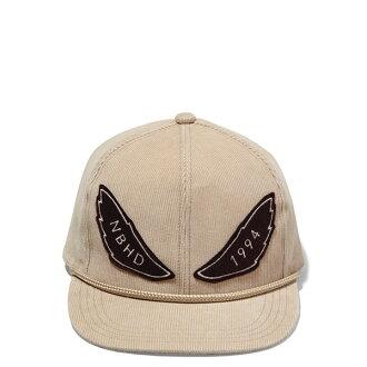 【EST O】Neighborhood CORDUROY / CE-CAP NBHD 絨布 可調式 棒球帽 卡其  H1016
