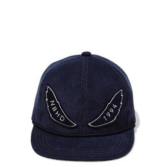 【EST O】Neighborhood CORDUROY / CE-CAP NBHD 絨布 可調式 棒球帽 藍 H1016