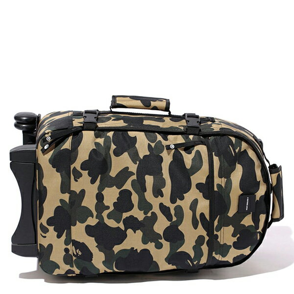 【EST O】A Bathing Ape 1St Camo Travel Luggage (Cordura) 登機箱 卡其 G0908 1