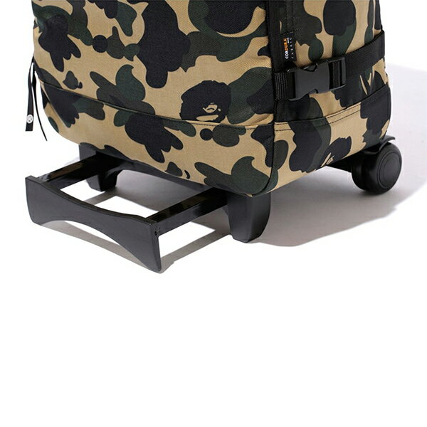 【EST O】A Bathing Ape 1St Camo Travel Luggage (Cordura) 登機箱 卡其 G0908 2