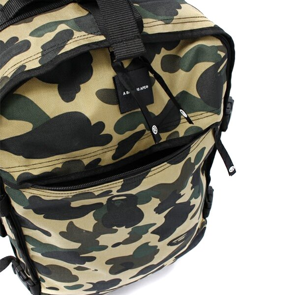 【EST O】A Bathing Ape 1St Camo Travel Luggage (Cordura) 登機箱 卡其 G0908 5