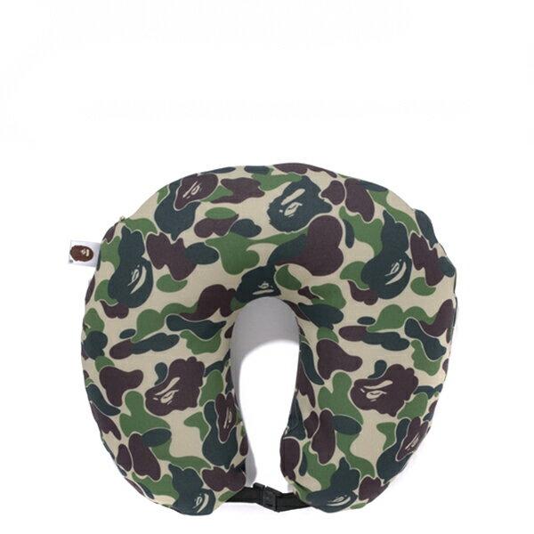 【EST O】A Bathing Ape Abc Neck Pillow 頸枕 飛機枕 迷彩 G1004 0