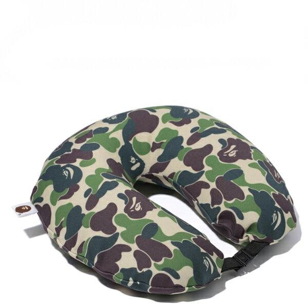 【EST O】A Bathing Ape Abc Neck Pillow 頸枕 飛機枕 迷彩 G1004 1