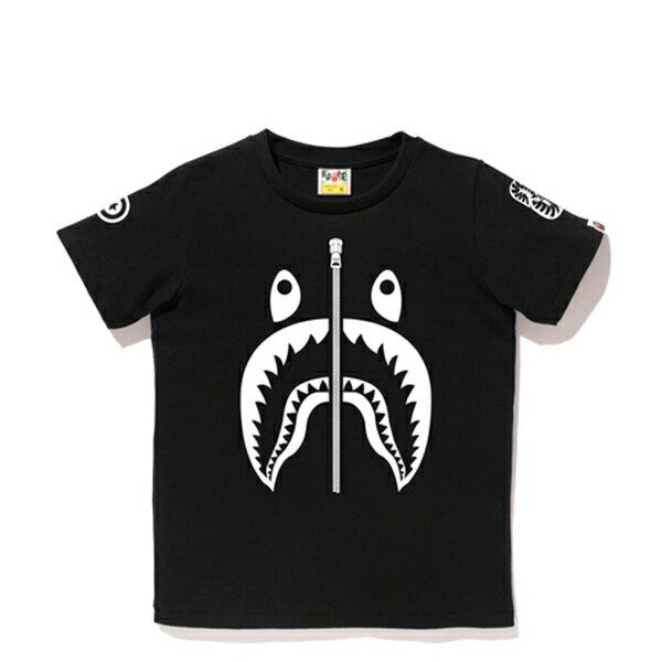 【EST O】A Bathing Ape Shark 鯊魚短Tee#1 黑 Ladies G0908 0