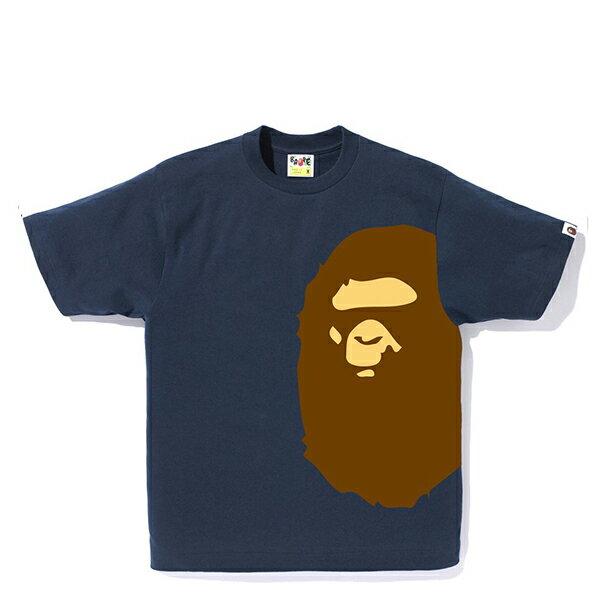 【EST O】A Bathing Ape Pigment Side Big Ape Head Tee 藍 G0908 0