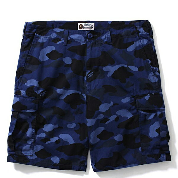 【EST O】A Bathing Ape Color Camo 6Pocket Shorts 短褲 藍迷彩 G0908 0