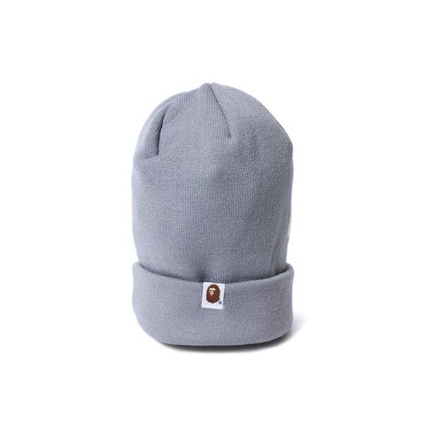 【EST O】A Bathing Ape Bape Knit Cap 毛帽 灰 G1004 1