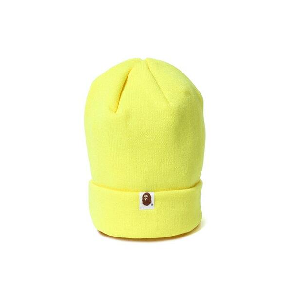 【EST O】A Bathing Ape Bape Knit Cap 毛帽 黃 G1004 1