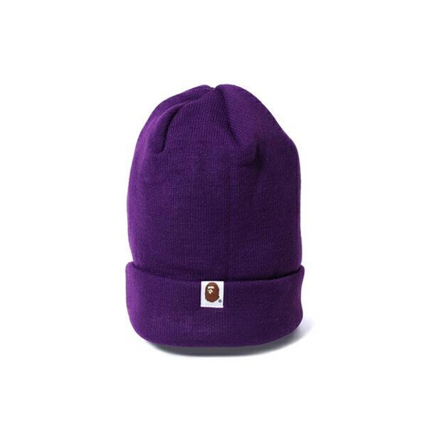 【EST O】A Bathing Ape Bape Knit Cap 毛帽 紫 G1004 1