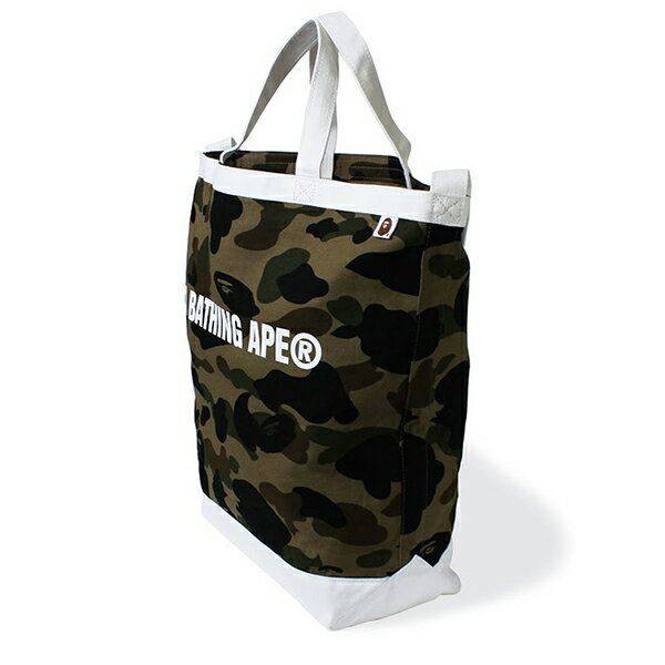 【EST O】A Bathing Ape 1St Camo Shoulder Tote Bag 手提側背包 綠 G0908 2