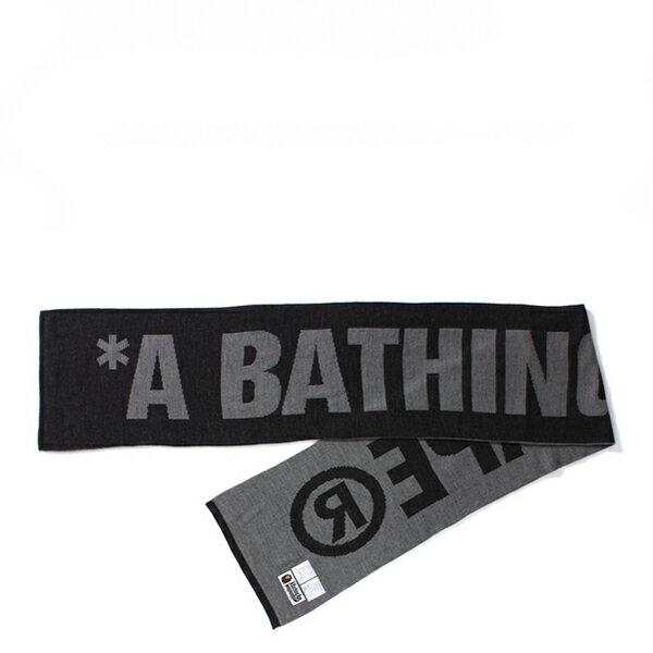 【EST O】A Bathing Ape Scarf 圍巾 黑 G1004 0