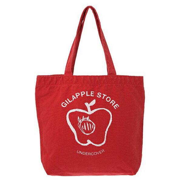 【ESTO】UndercoverGSS6B01經典蘋果托特包購物袋紅色H0802