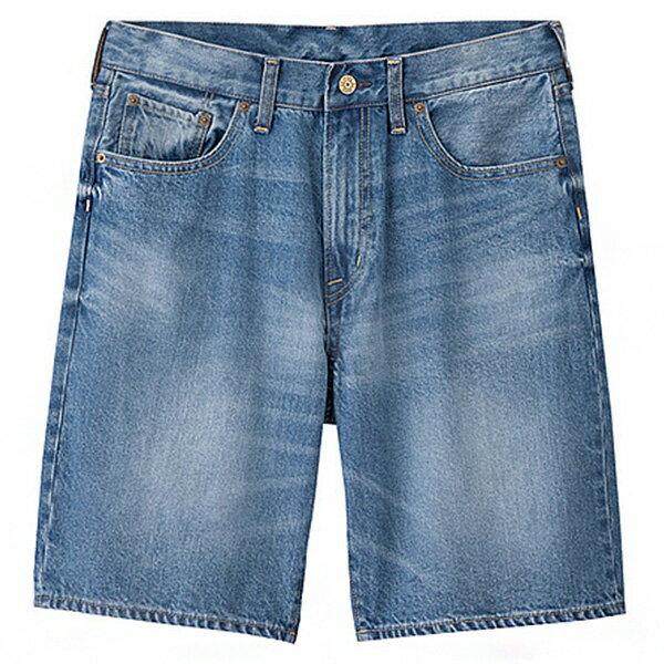 【EST O】Uniqlo × G.U. Gu [268898] 單寧 牛仔 短褲 五分褲 藍 G0526 - 限時優惠好康折扣
