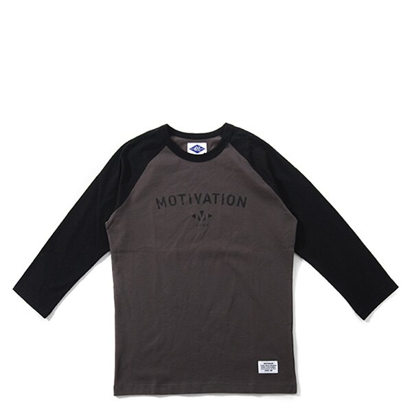 【EST O】Madnesslong Sleeves Raglan 棒球衣 七分袖 Tee 咖啡 F1106 0