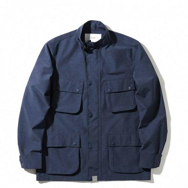 【ESTO】MadnessLightHunterJacket機能多口袋外套深藍H1123
