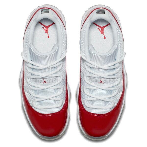 【EST O】Nike Air Jordan 11 Retro Low Varsity Red 528895-102 男鞋 紅白 G0606 2