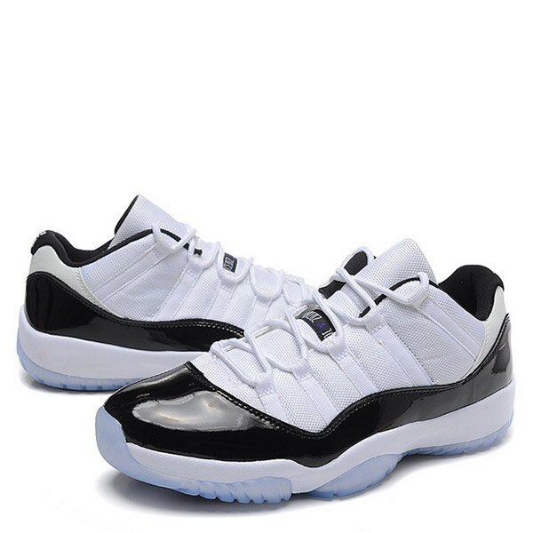 【EST O】Nike Air Jordan 11 Retro Low Concord 528895-153 AJ11 亮皮 果凍底 白黑 G0317 1