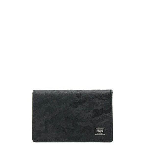 【ESTO】Porter吉田WONDERCARDCASE卡包證件包卡夾迷彩黑H0803