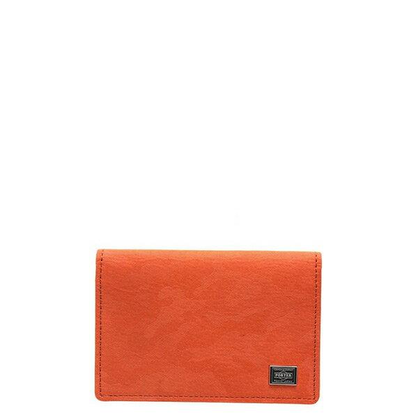 【ESTO】Porter吉田WONDERCARDCASE卡包證件包卡夾迷彩橘H0803