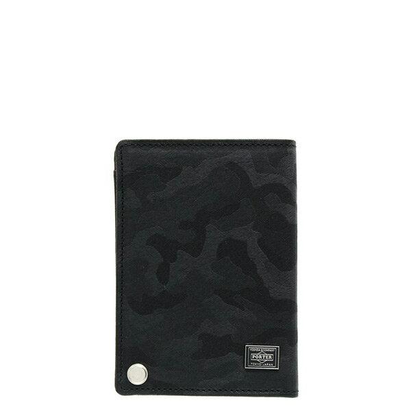 【ESTO】Porter吉田WONDERPASSCASE卡包證件包卡夾迷彩黑H0803