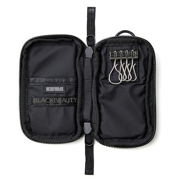 【EST O】Head Porter Black Beauty Zip Key Case 鑰匙包 G0722 2
