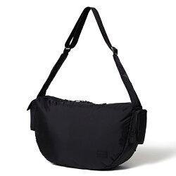 【EST O】Head Porter Black Beauty Zip Shoulder Bag 側背包 G0722